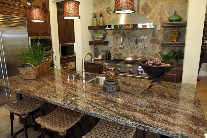 Granite Countertops Brown Grey Rochester Arika Granite And Marble, Inc.